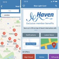 Free Blue Light Card mobile app