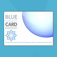 Blue Light Card high street savings