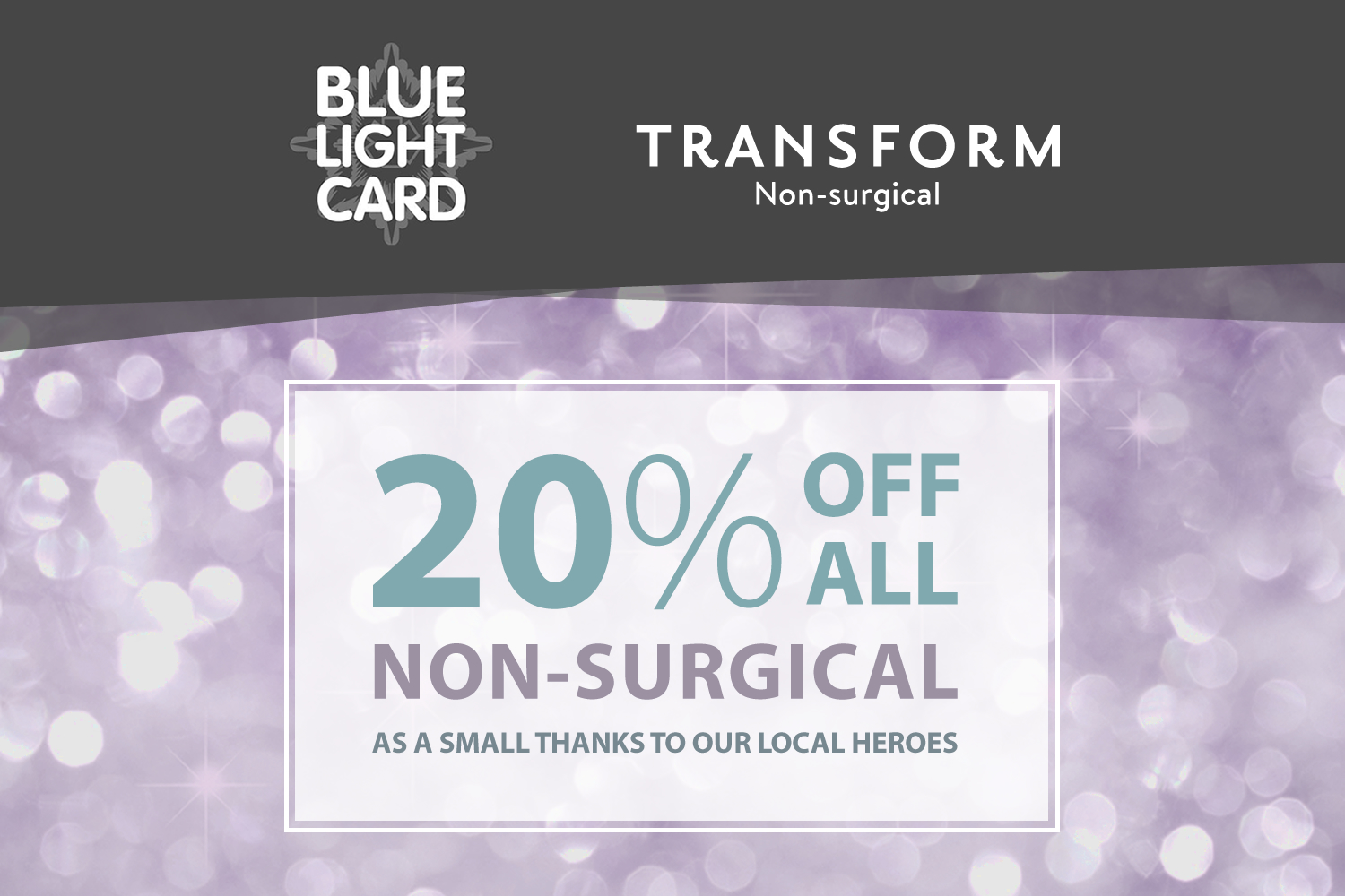 Transform offering amazing discounts!