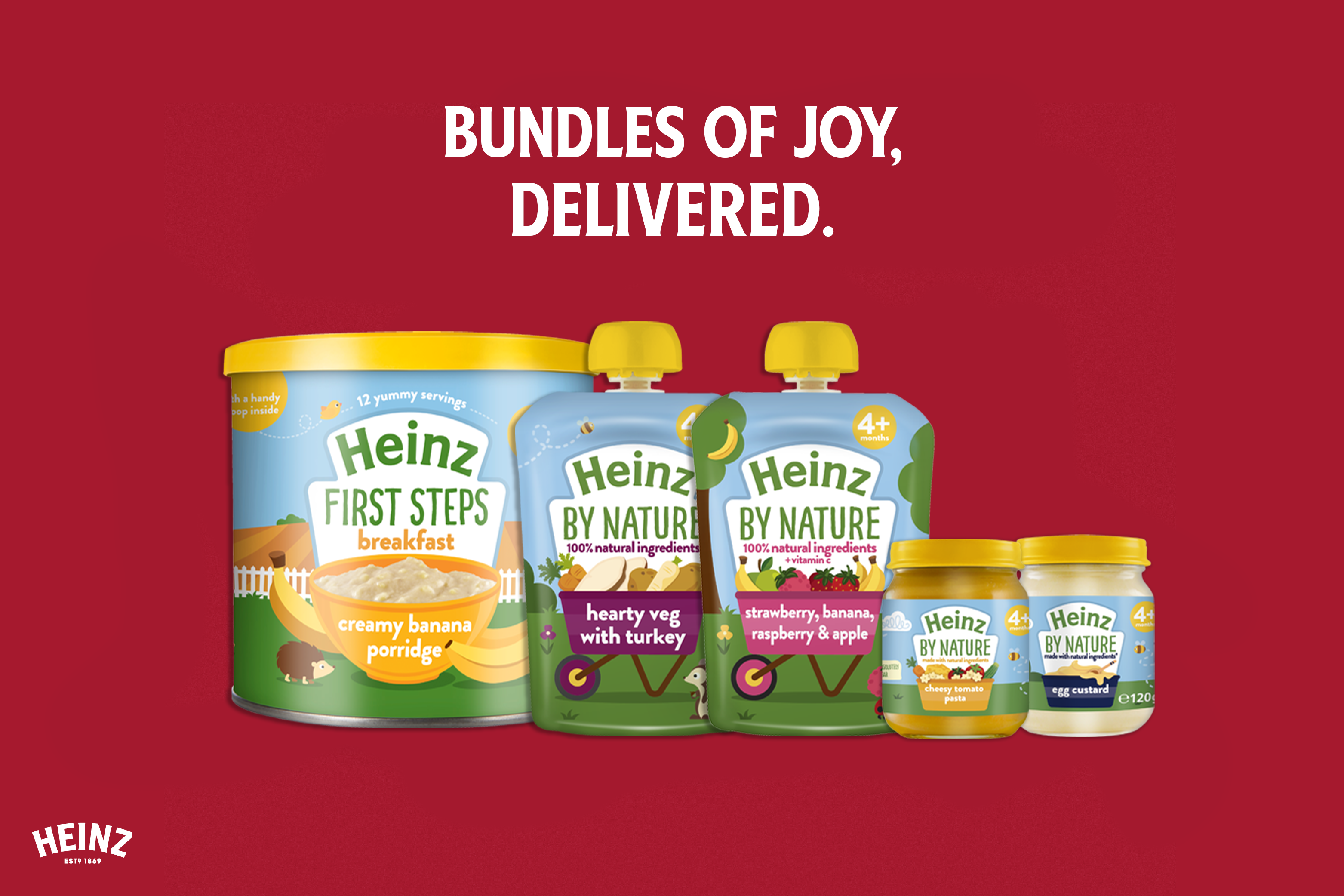 The new Heinz for Baby bundle!