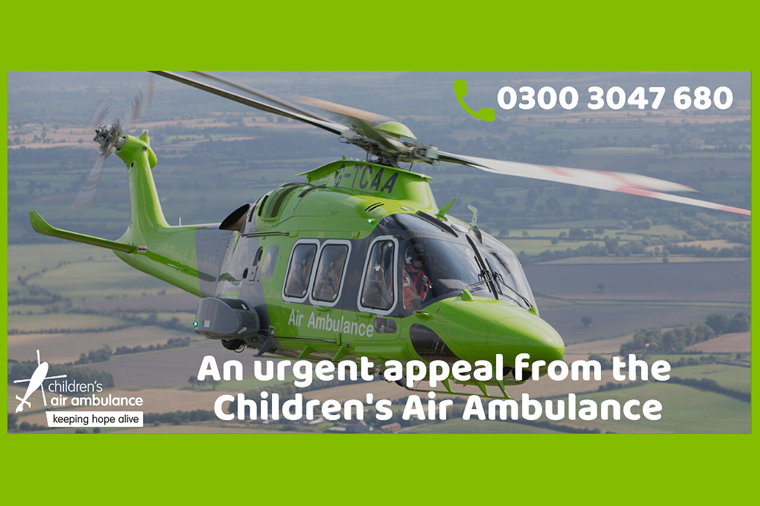 Urgent Appeal - Children's Air Ambulance