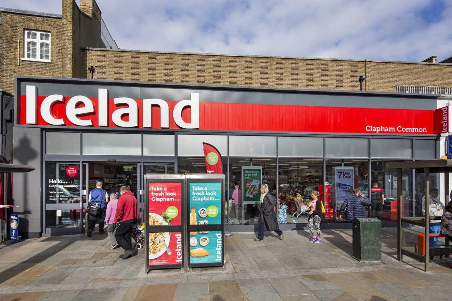 10% off at Iceland this July