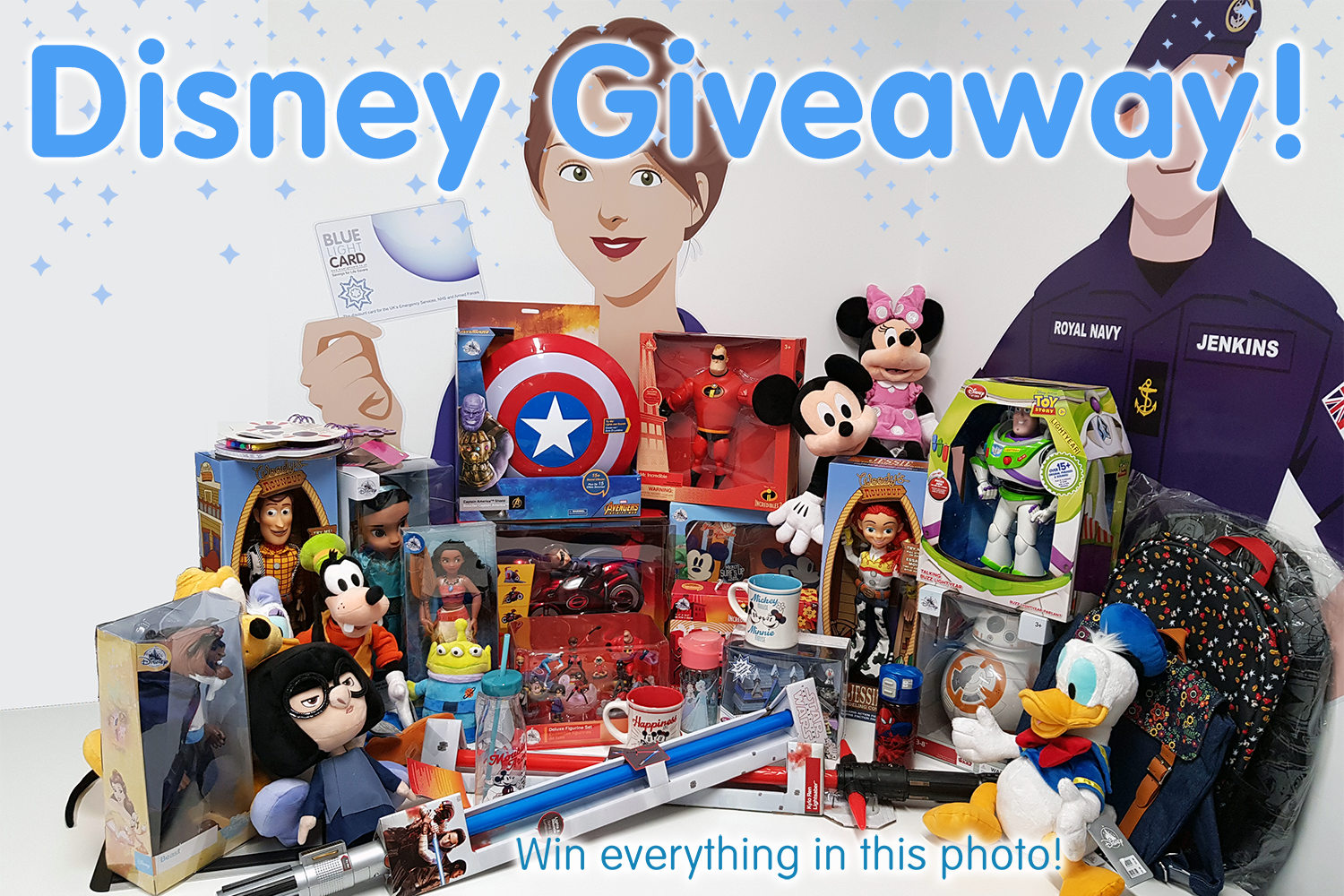 To Celebrate #BLC10 we have a massive Disney Giveaway!
