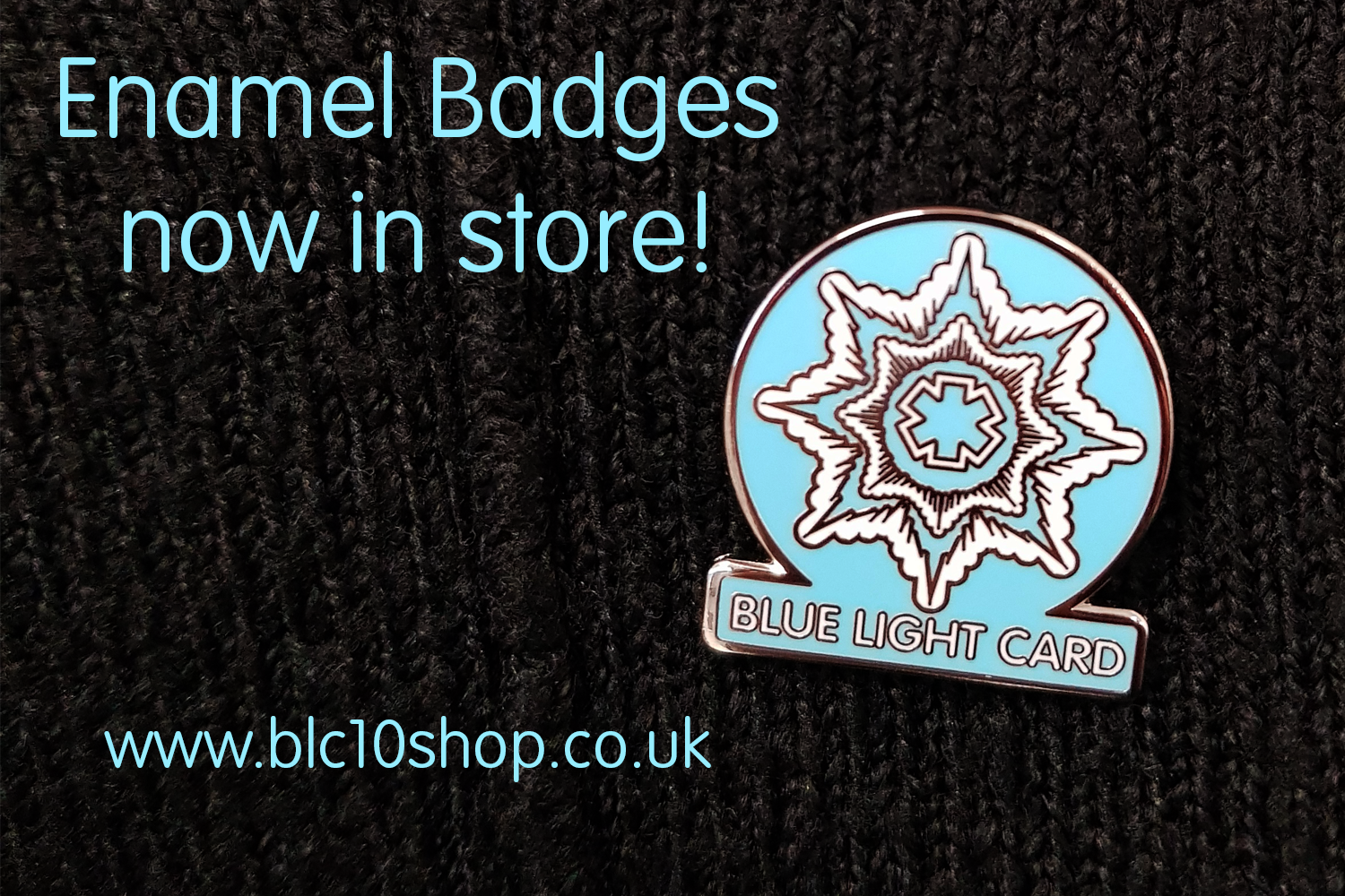 Enamel Badges now in stock!