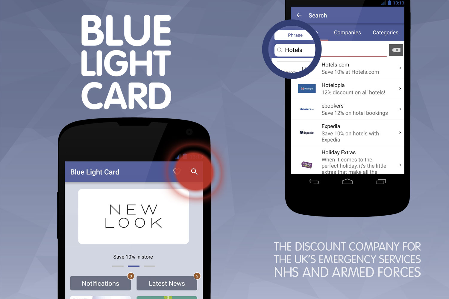 App Updates from Blue Light Card