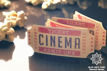 Cinema Savings for Blue Light Card members