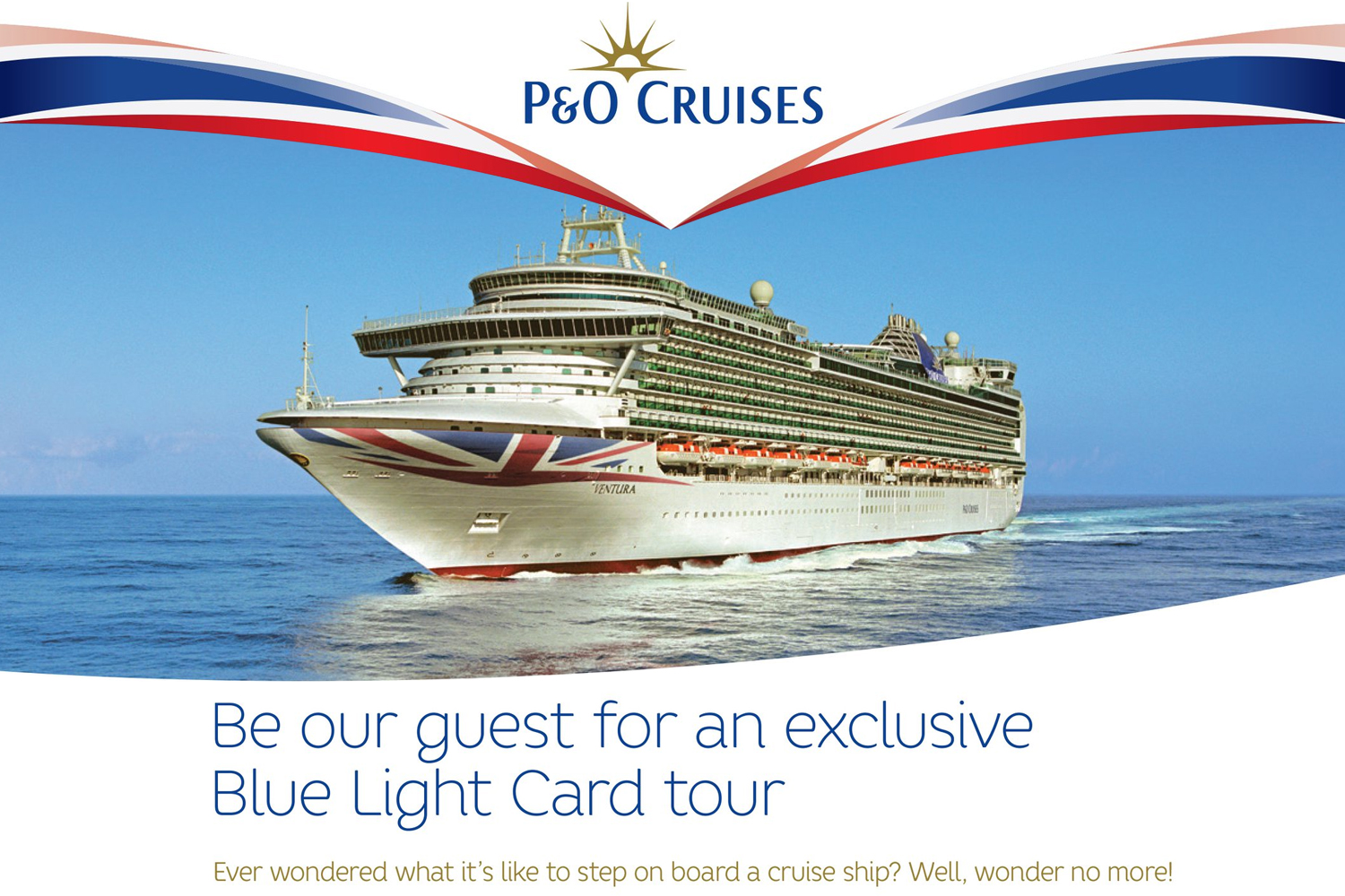 Exclusive Blue Light Card ship tour!