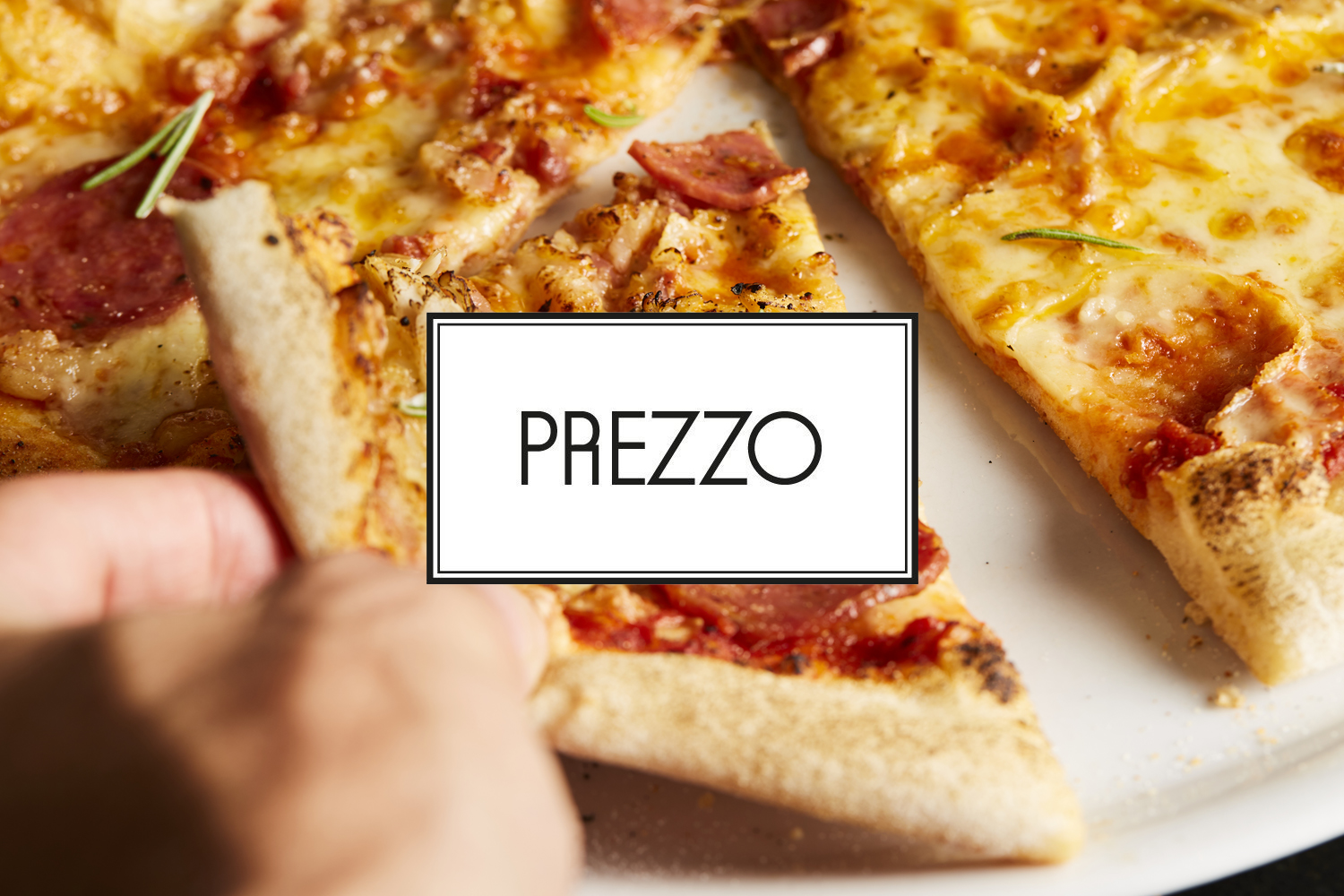 25% off your bill at Prezzo