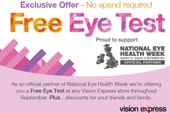 Free Eye Tests for members